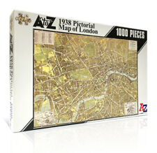 1938 A-Z Historical Map of London Jigsaw Puzzle (1000 pieces)