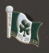 Village of Erin Ontario Metal Pin Pinback - Very Good