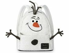 NEW Disney Parks Exclusive Loungefly Mini Backpack Frozen Olaf Sequined