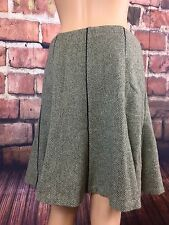 New with Tag - Ralph Lauren Women's Wool Skirt Black/Cream size 4 (!)