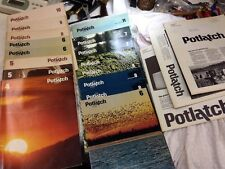 The Story of Potlatch Corporation. Brochures And Newspapers 1970's ,19 Pieces