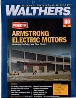 HO Scale Walthers Cornerstone 933-3172 Armstrong Electric Motors Background Kit