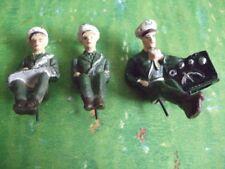 Fröha Figuren, komplette Besatzung für den Arnold Jeep, grüne Uniform