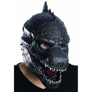 Godzilla Mask Adult Mens Halloween Costume Fancy Dress