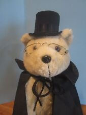 "THE WONDERFUL WORLD JANE WITHERS WORLD GALLERY 18""ROOSEVELT BEAR"