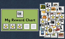 Behaviour Reward Chart - Autism / Aspergers / SEN / Special Needs / PECS / ADHD