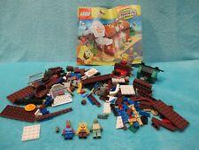 LEGO Spongebob Squarepants Set 3825 - The Krusty Krab INCOMPLETE + Instructions