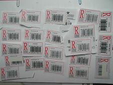 Slowakei 21 R-Zettel Einschreibzettel Einschreiben-Label