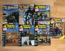 Zeitschriften MotorradReisen Magazin, Tourenfahrer, Sammlung, Abenteuer, 7 Stück