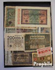 Kollektion 20 Geldscheine Deutschland bis 1945