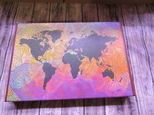 Mandala World Map - Jigsaw Puzzle - 1000 Pieces - Famzzle Brand