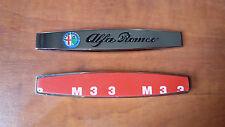 2 Fender Logo Stemma Emblema Fregio Laterale Alfa Romeo 147 159 Mito Giulietta