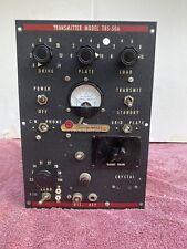HARVEY WELLS BANDMASTER TBS-50A HAM RADIO TRANSMITTER W/ MIC AMP AND RELAY