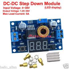5A DC-DC Buck Step-down Converter Voltage Regulator LED Meter 4V-38V to 1.5V-36V