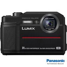 Panasonic LUMIX TS7 Waterproof Tough Digital Camera (Black) **USA Authorized**