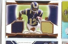 STEDMAN BAILEY 2013 TOPPS PRIME ROOKIE RC DUAL JERSEY #25/99 RAMS # DR-SB