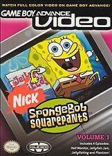 Spongebob Squarepants, Vol. 1, Good Game Boy Advance, Game Boy Advan Video Games