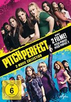Pitch Perfect 1 + 2 Set 2-Movie Collection DVD Rebel Wilson