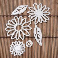 Blume Cutting Dies Stencil Scrapbook Album Paper Card DIY Embossing Crafts J1W9