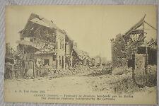 "CPA "" ALBERT - Faubourg de Doullens bombardé"