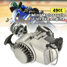 49cc Mini Moto Bike Quad 2 Stroke Complete Engine Pullstart Carburettor Filter