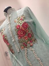 Pakistani Maria B bridal lengha salwar kameez anarkali Churidar Wedding Dress