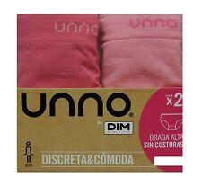 Pack 2 bragas altas Unno Smart confort sin costuras Rosa-rosa intenso L/xl