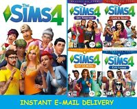 The Sims 4 + 4 Expansion Packs | Digital Account |Windows/MAC|Multilanguage