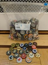 500+ MIXED BEER BOTTLE CAPS GREAT COLORS AWESOME CRAFT SELECTION