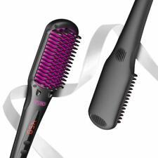 Tymo Hair Straightening Brush Enhanced 2 in 1 Ionic Straightener Travel Salon
