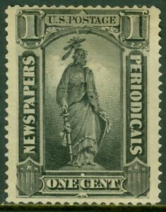 EDW1949SELL : USA 1894 Scott #PR90 Mint OG Fresh stamp PSAG Cert. Catalog
