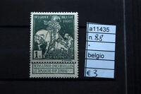 FRANCOBOLLI BELGIO NUOVI* N°88 (A11435)