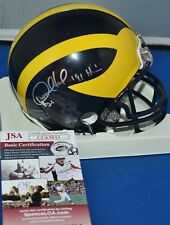 DESMOND HOWARD SIGNED MINI HELMET MICHIGAN WOLVERINES HEISMAN 91 JSA c11ee50bc