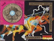 Nordjemen (Arabische Rep.) Block149 (kompl.Ausg.) postfrisch 1970 Deutsche Olymp
