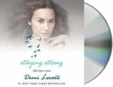 Demi Lovato STAYING STRONG 365 DAYS A YEAR Unabridged Audio Book