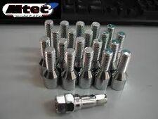 10x BMW Tuner Wheel Bolt, M12 x1.5mm Thread Slim Head 35mm thread Length