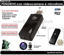 MINI DV U9 USB PENDRIVE FLAH DISK CON MICROCAMERA COLORI NASCOSTA  E MICROFONO