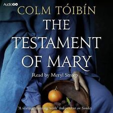 THE TESTAMENT OF MARY - by Colm Toibin  - Read by Meryl Streep  3-Disc Audio CD