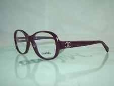 Chanel 3159 B 1068 Lila Oscuro + Estuche Orig Redondo Gafas Gafas Marcos Talla 50