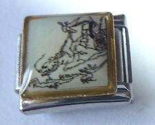 CHINESE DRAGON Italian Charm DR2 - Photo fits ALL 9mm Classic Starter Bracelets