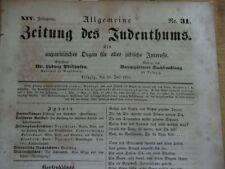 1850 Juden in übler Zustand der Gemeinde in Berlin Zwettl Zwettel