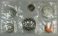 1963 Canada Proof-Like PL Set in Original Mint Seal Silver Coins NO Envelope