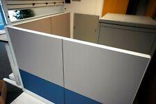 More details for l shaped double side office partition desk divider 1750 x 1900 x 1250
