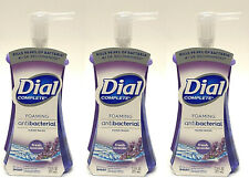 3 DIAL COMPLETE FOAMING HAND WASH FRESH LAVENDER LIQUID SOAP 7.5 OZ NEW