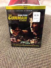 The Gunman (Blu-ray Disc, 2015, Canadian) W Slipcover Sean Penn