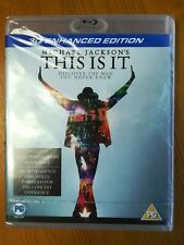 Michael Jackson - This Is It (Blu-ray, 2010) New And Sealed