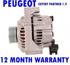 PEUGEOT EXPERT PARTNER 1.8 1.9 TD MPV BOX 1996 1997 - 2015 RMFD ALTERNATOR