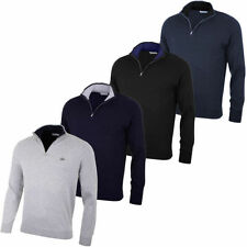 Lacoste Men's Zip Neck No Pattern Jumpers & Cardigans
