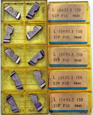 10 PLAQUITAS INTERCAMBIABLES SANDVIK L 154.93-3 150 , SIP P10