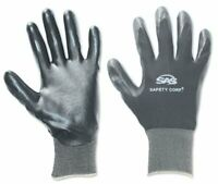 Sas Safety 640-1910 1-pair Of Paws Nitrile Coated Palm Gloves, Size Xl (6401910)
